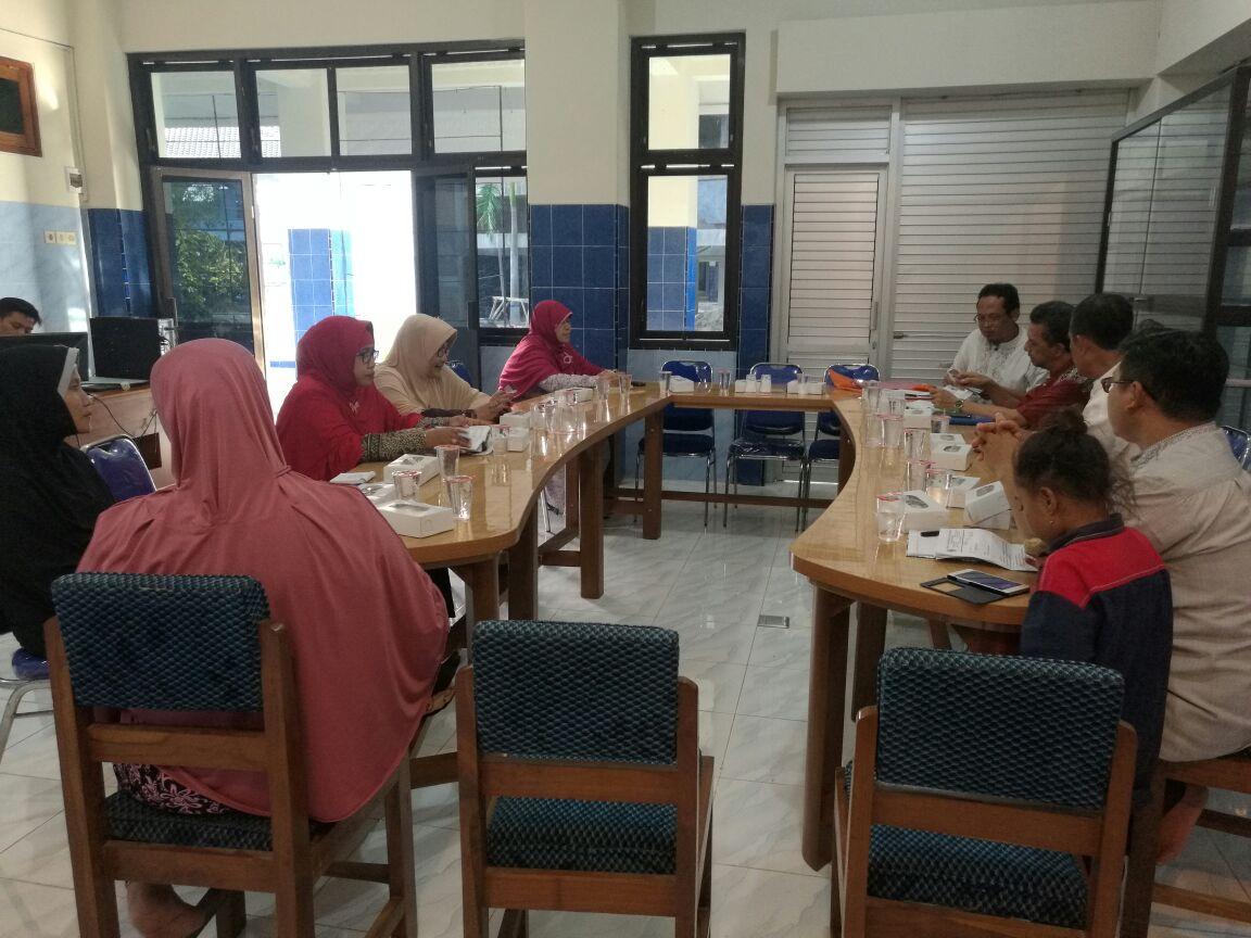 Rapat Koordinasi PCM dan PCA Sumberrejo di Kantor PCM Sumberrejo
