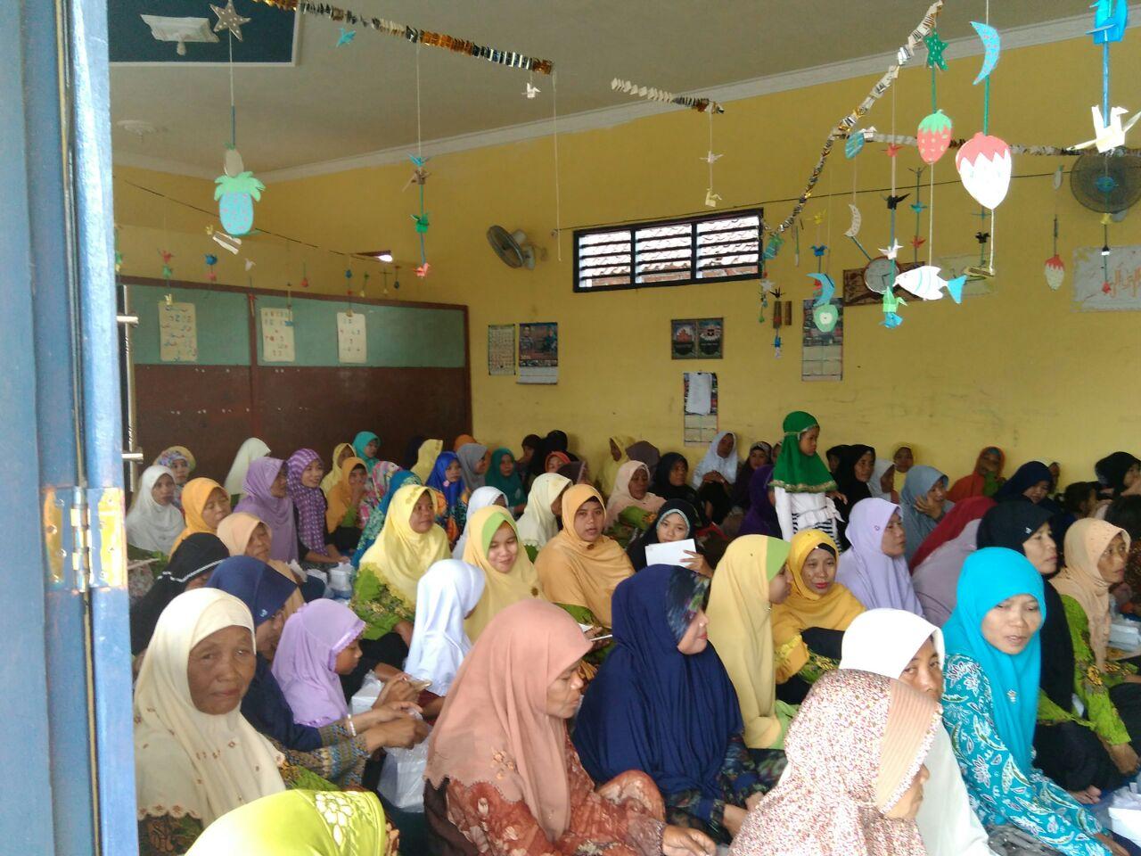 Kegiatan pengajiian rutin 'Aisyiyah di PRA Mejasem-Kanor