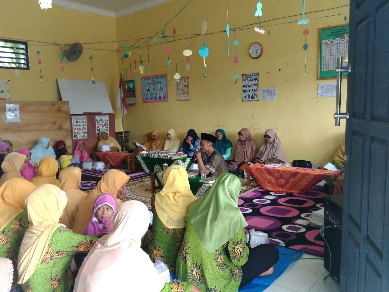 Kegiatan pengajian rutin 'Aisyiyah di PRA Mejasem-Kanor
