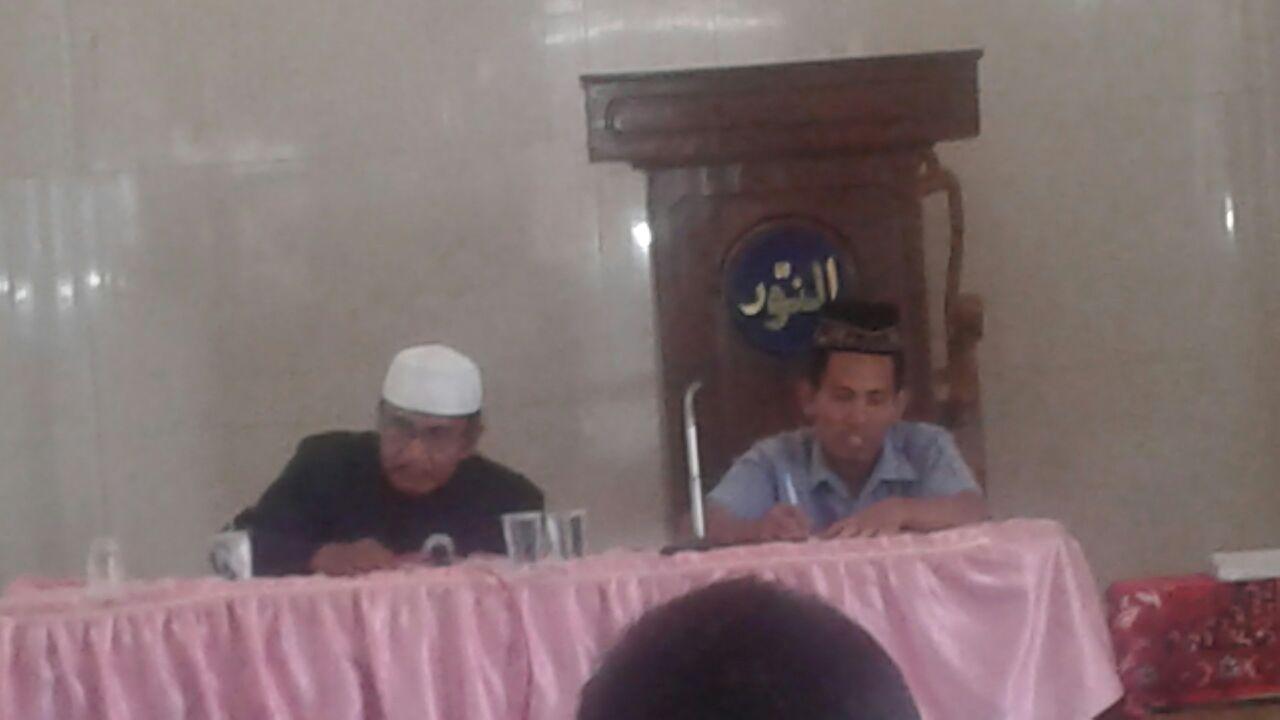 Kajian Rutin Jumat Legi PCMdanPCA Sugihwaras yang bertempat di masjid An-Nuur dengan narasumber Bapak H.Moch. Ichsan, BA.